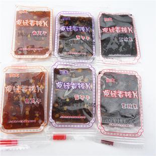 依夫傻妹香辣丝 豆豉果/南瓜干/茄子干小辣丝3种味500g*2斤装包邮