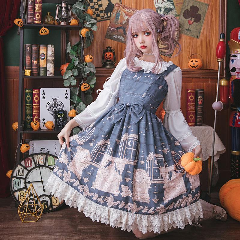 Pea girls test original Lolita Dress daily Sweet Princess Dress Lolita Dress