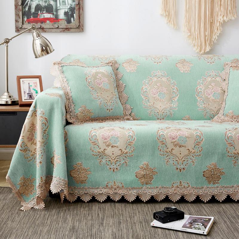 沙发垫四季布艺欧式防滑皮沙发全包(非品牌)