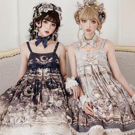 【现货】未尽之诗 JSK 2型日常 复古优雅连衣裙 莱拉的赞歌lolita图片