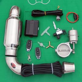 遥控汽车排气管改装跑车声浪可变排气阀门改装通用阀门炸街声音器