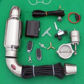 Глушители, раздвоители, насадки на глушитель,  Автомобиль выхлопная труба ремонт звук волна жарить улица спортивный автомобиль звук дистанционное управление клапан общий переменная выпускной клапан ремонт вакуум, цена 884 руб