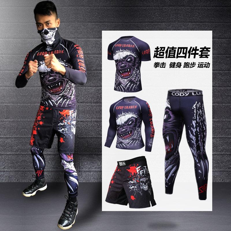 MMA Fight Fight шорты бокса Muay тайский подготовки спортивной одежды фитнес бег баскетбол быстро сухие поножи