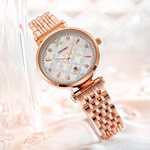 时诺比女手表钻面复古经典防水奢华优雅大方小众品牌正品