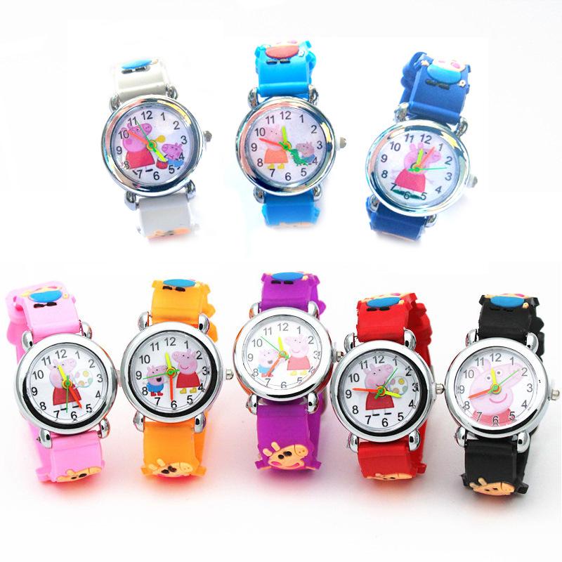 儿童节日礼物可爱卡通手表幼儿园小孩子生日送礼小礼品批�l包邮
