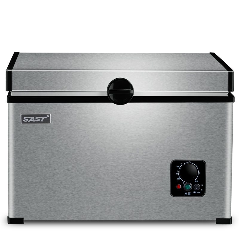 SAST автомобильный рефрижераторный компрессор автомобиль с двойным использованием небольшой 12V24V мини морозильник морозильник 35/45/65 литров