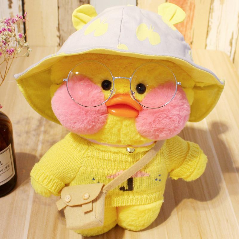 限10000张券韩国网红布朗熊莎莉鸭公仔毛绒玩具小黄鸭小黄鸡抱枕少女生日礼物