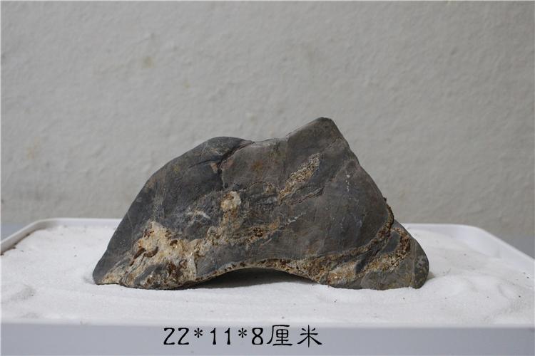 灵璧石山形石头皮石案头石摆件观赏石奇石原石毛石未刷山峰石D3
