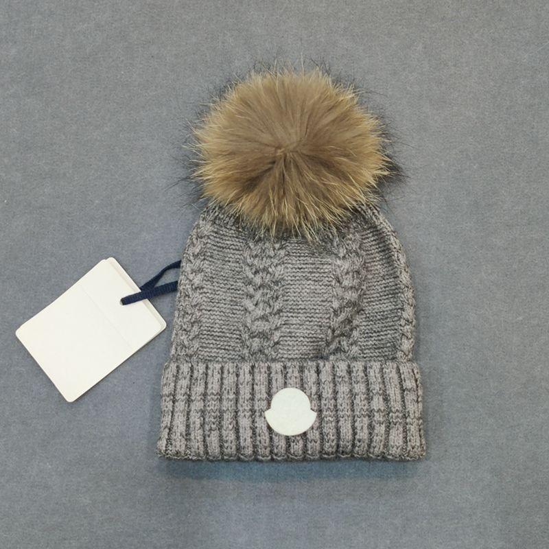 新款羊毛混纺麻花编织毛线帽加厚保暖Зимняя шапка