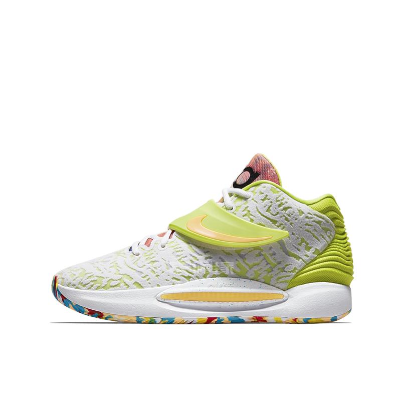 球鞋家 Nike KD14 EP 杜兰特14代首发实战篮球鞋 CZ0170-700-400