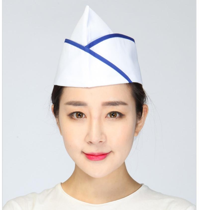 日韩厨师帽寿司拉面厨房饭店料理酒店居酒屋卫视食品工作帽