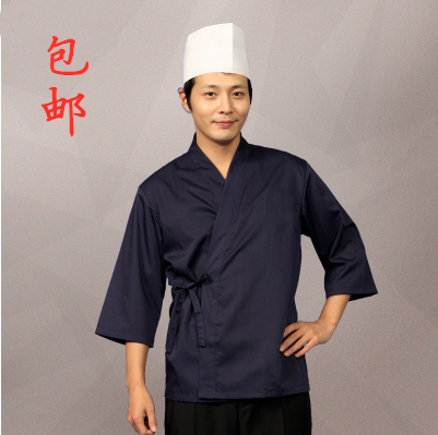 Japanese style chefs clothes Japanese Restaurant Korean food working clothes tavern waiters sushi shop custom embroidery