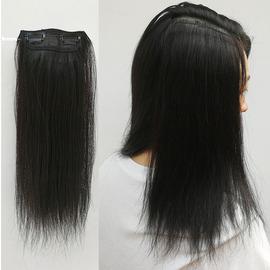 真发垫发片头顶补发假发片一片式无痕隐形垫发根蓬松器两侧可烫卷
