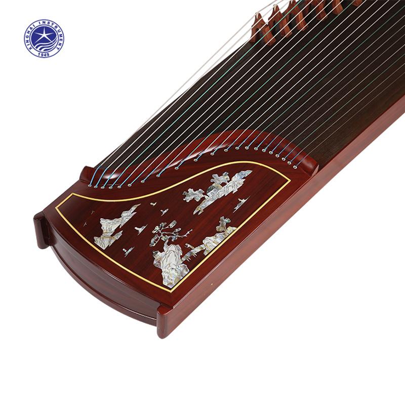 18812T星海古筝星海乐器红木古筝高山流水初学入门演奏高山流水