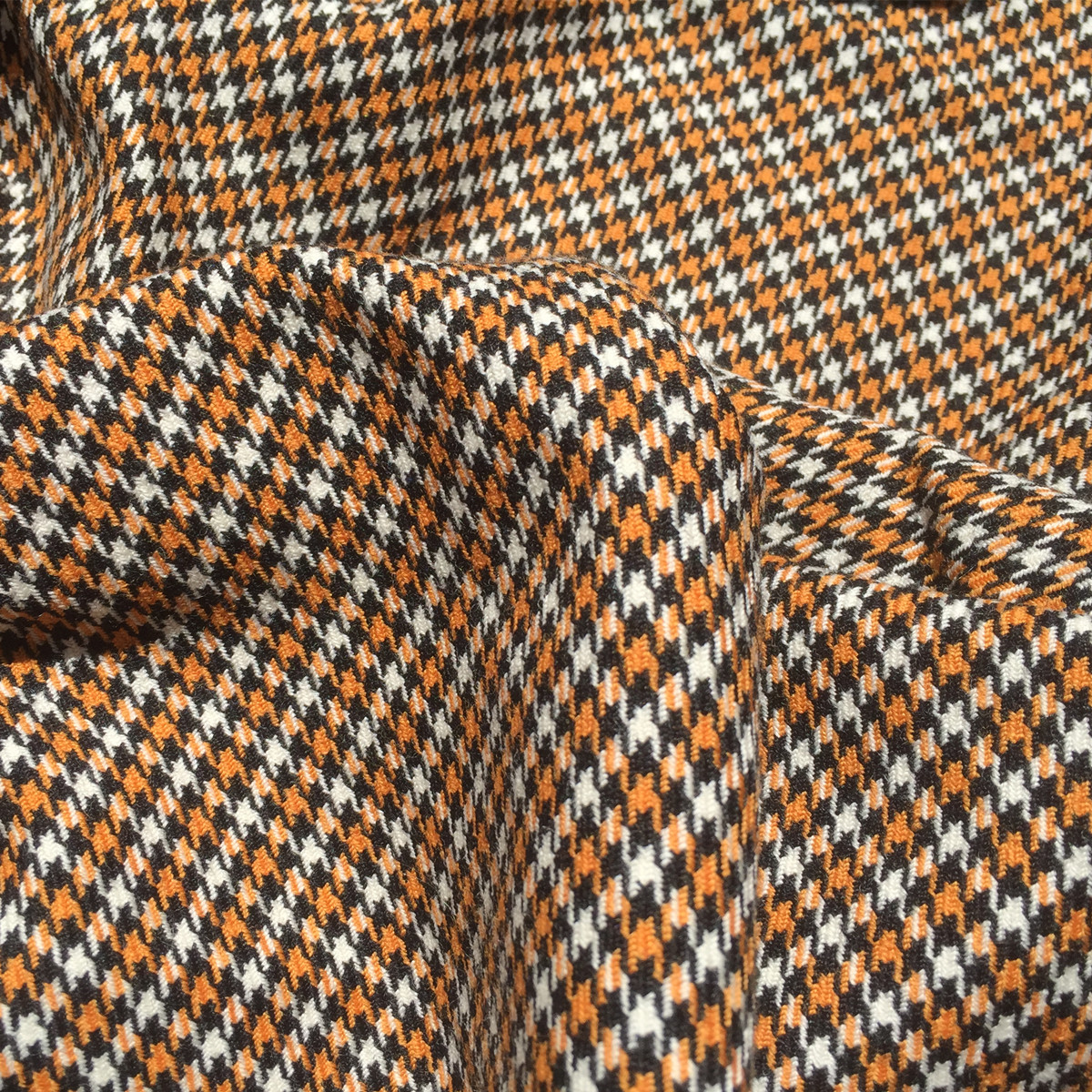 Pure wool thousand bird check fabric suit dress pants fabric