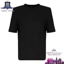 英国代购 女士新款 The Attico 短袖纯棉针织T恤 正品直邮
