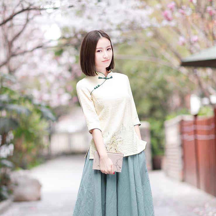 Национальная китайская одежда Артикул 589091334115