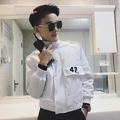 102-特P75 2019秋季爆款基础版百搭外套男网红夹克外套男