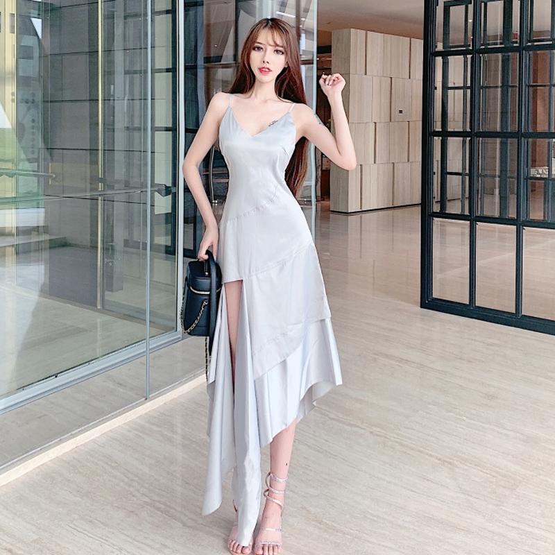 格格家2019夏季新款性感吊带连衣裙10月27日最新优惠