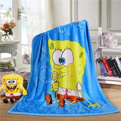 Childrens blanket kindergarten nap blanket winter double-layer thickened single office cartoon coral blanket bed sheet