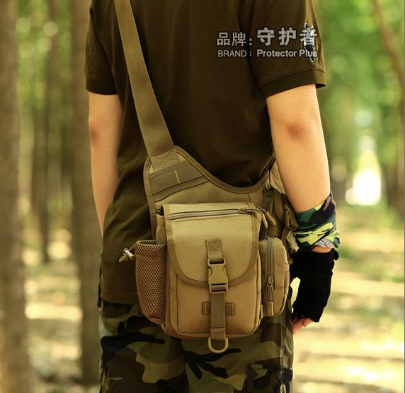 守护者帆布鞍袋包男女单肩斜挎鞍包多功能单反挎包大相机包摄影包