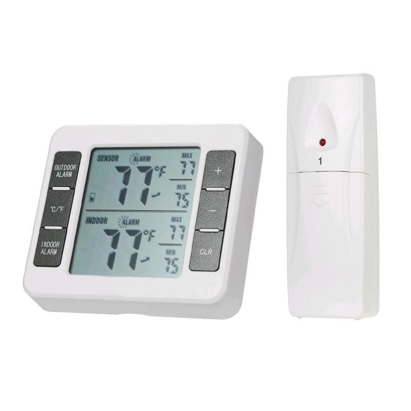 家庭用のワイヤレスルームの内外の電子温度計は高精度で簡単です。