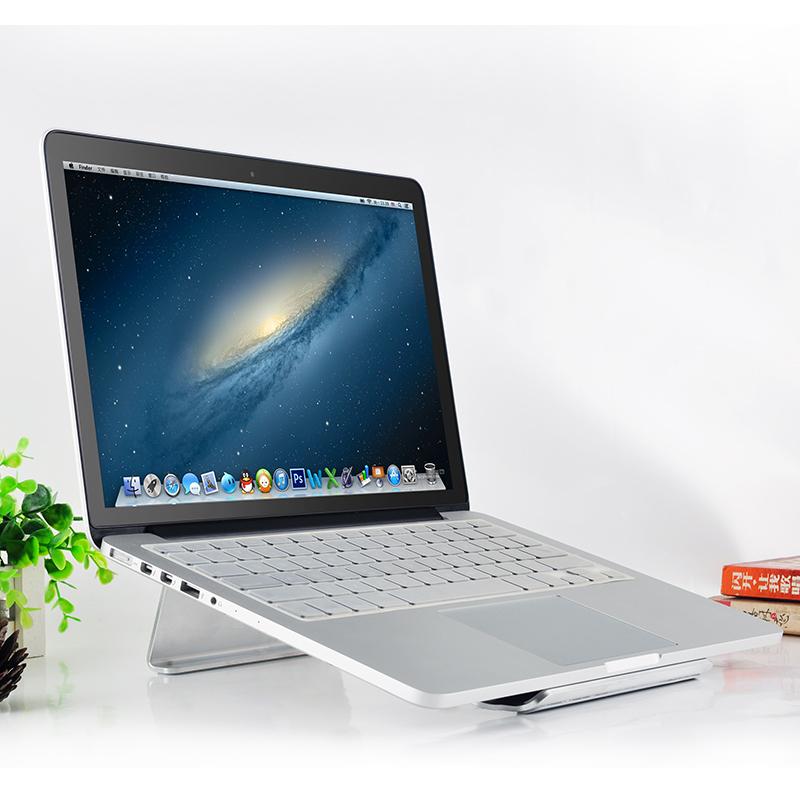 蘋果macbook air鋁合金筆記本支架MAC電腦散熱器頸椎桌麵增高架子