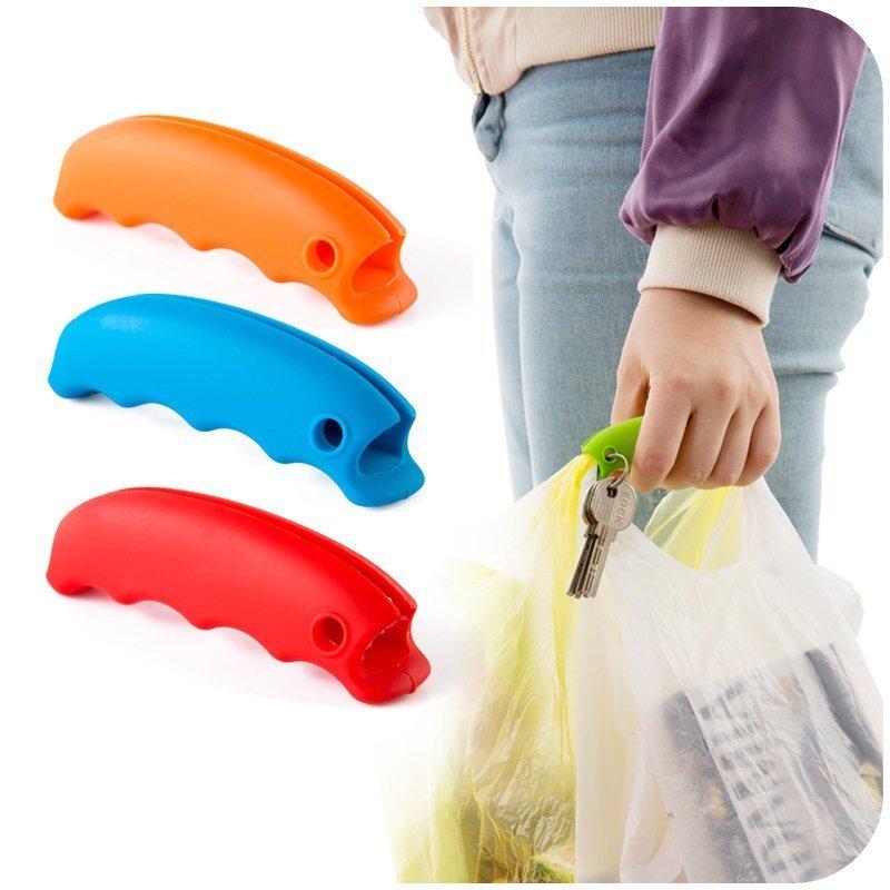 便携硅胶提菜器拎菜器防勒手提袋器拎袋器省力塑料袋提物器提手器