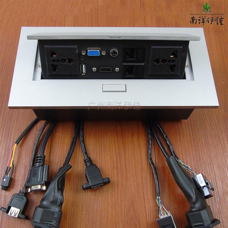 Рабочий стол выход hdmi без проводов рабочий стол информация коробка офис комната конференция выход панель выход продаётся напрямую с завода