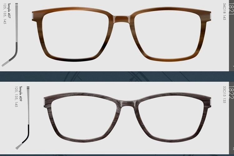 天然纯手工镜架LINDBERG 1821 1822林德伯格光学眼镜框男女