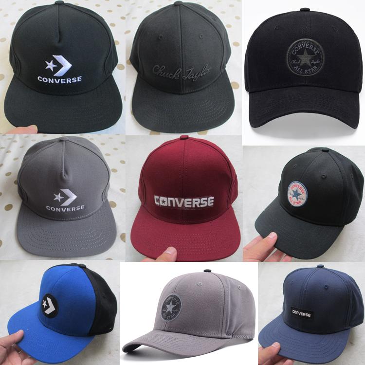 满69.00元可用1元优惠券匡威帽子男棒球帽秋季新款正品CONVERSE帽涂鸦款经典款户外鸭舌帽