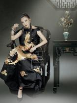 云饰图腾原创设计品牌定制定做只为您量身定制您的老绣民族风女装
