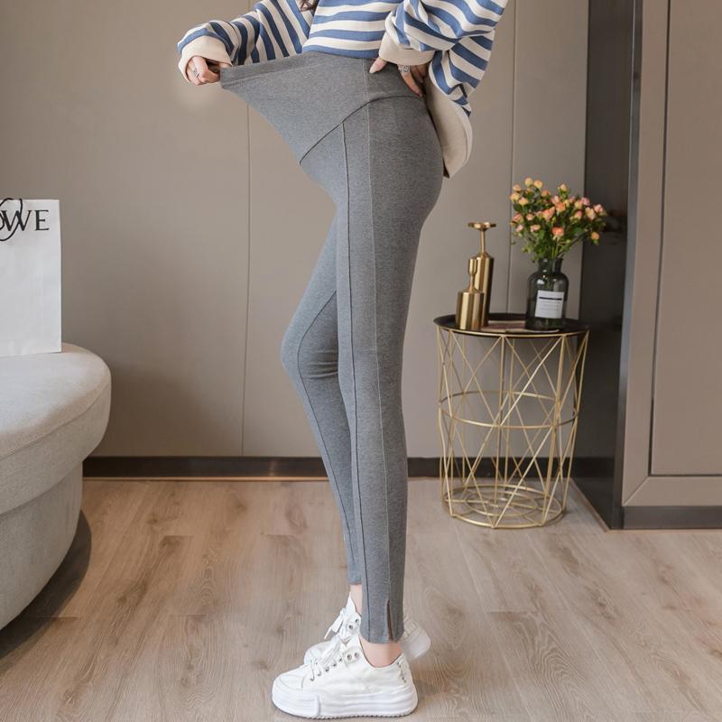 孕妇打底裤春秋冬加绒加厚孕妇裤子秋季外穿时尚长裤潮孕妈托腹裤
