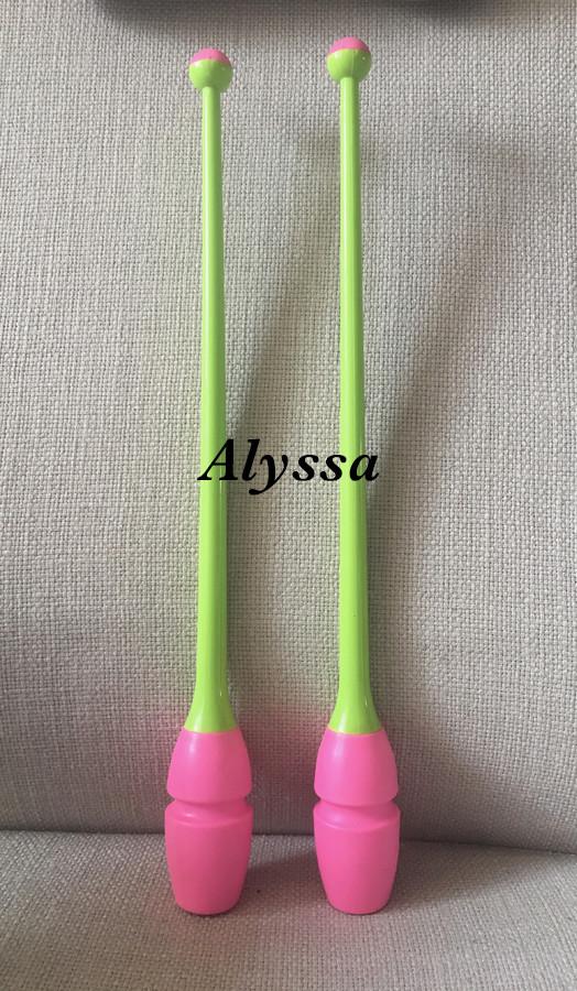 Alyssa искусство гимнастика палка - резина вставить палка двойной цвет япония в этом же моделье внутренний первый домой эксклюзивный издатель 455mm