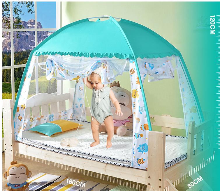 Ребенок сетка от комаров мальчик общий юрта мини дом стойкость к осыпанию уплотнённый ещё более секретный детский сад ребенок небольшой сетка от комаров мультики