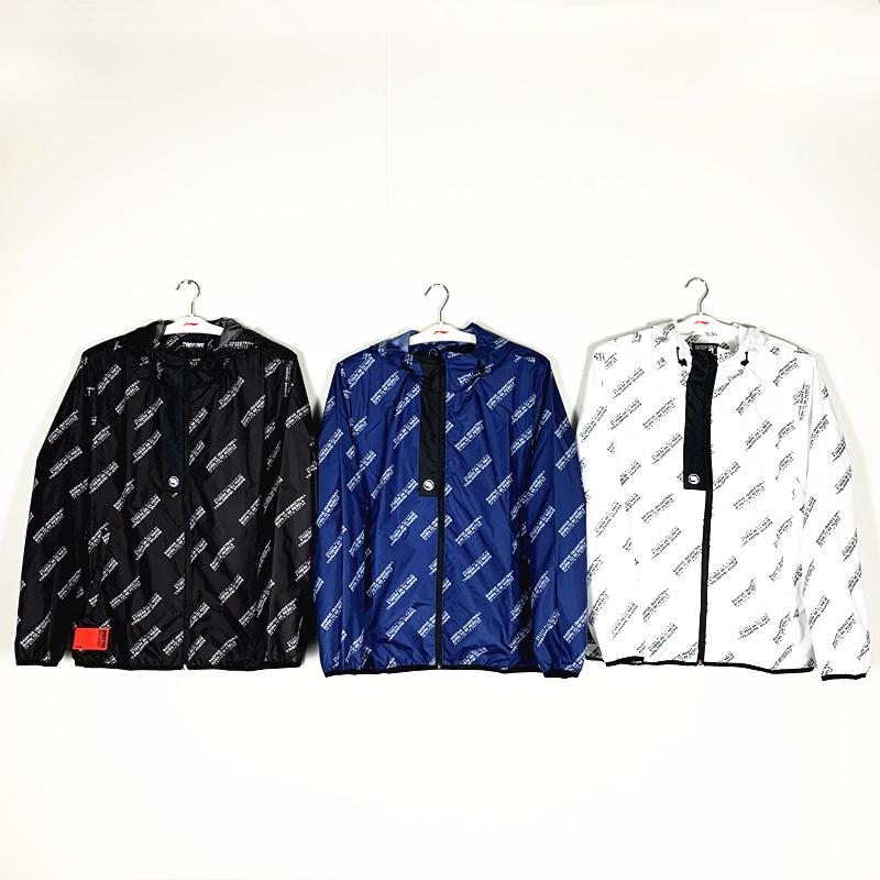 AFDP015风衣运动休闲派克防风防泼水BAD5新款2019李宁男子外套