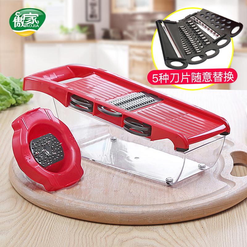 土豆丝切丝器萝卜丝刨丝器切片器擦丝器切丝器家用多功能切菜器