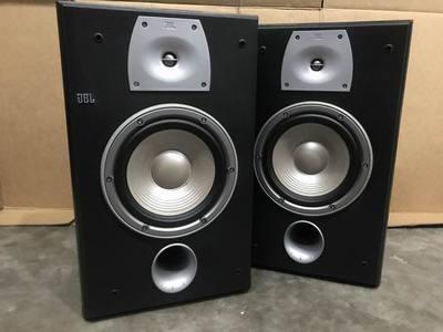 二手原装美国 JBL N28 发烧HIFI书架音箱8寸中低音