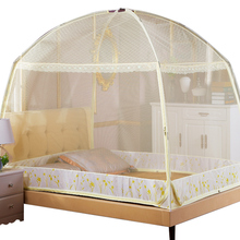 Mongolian yurt mosquito net 1.5m bed 1.8m2m double family with single student dormitory 1.2m bracket embellishment