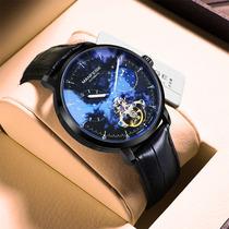 手表男全自动机械表陀飞轮镂空夜光防水潮流男士手表十大品牌瑞士