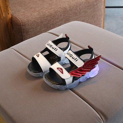 2021冬季新款凉鞋童鞋正品防滑5岁橡胶6岁露趾4岁9岁魔术萌哚宝贝