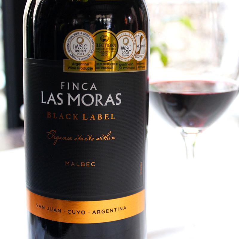 杯中时光原瓶进口红酒阿根廷经典黑牌马尔贝克干红