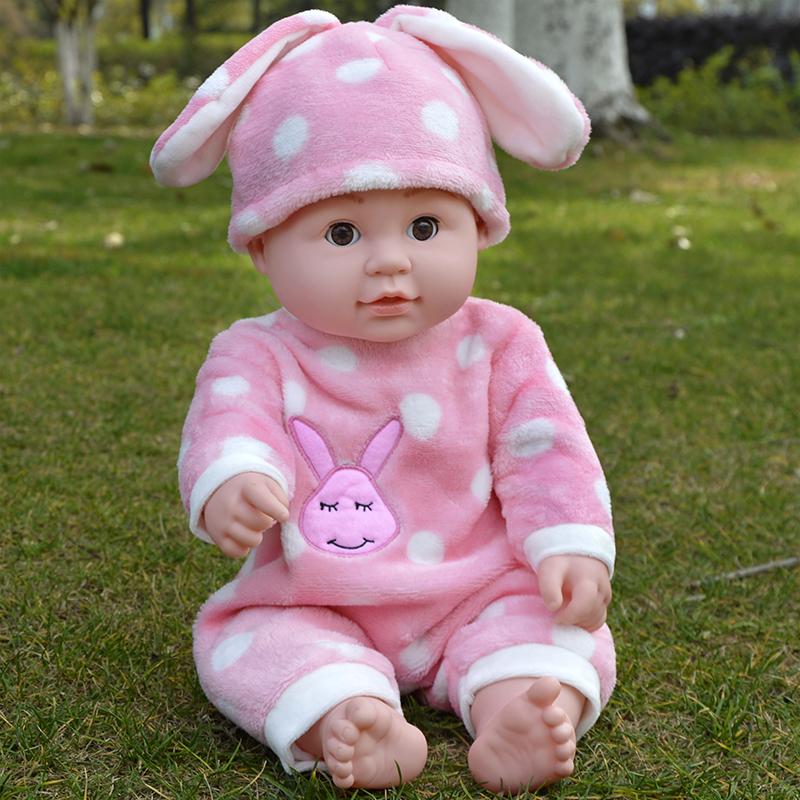 Моделирование кукла ребенок все мягкий ребенок сказать слова спойте песню из умный иностранных кукла обучения в раннем возрасте женский детей ребенок игрушка