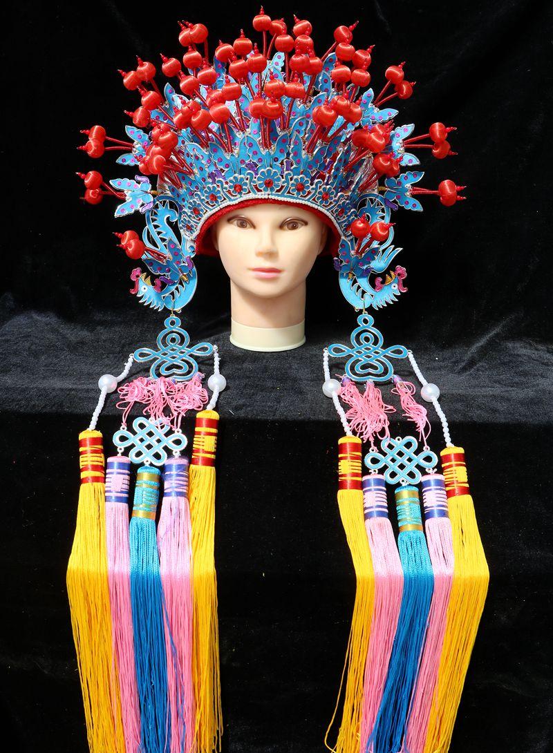 凤冠霞帔 新娘凤冠 古装演出 厂家直销 凤冠帽子 复古公主帽子