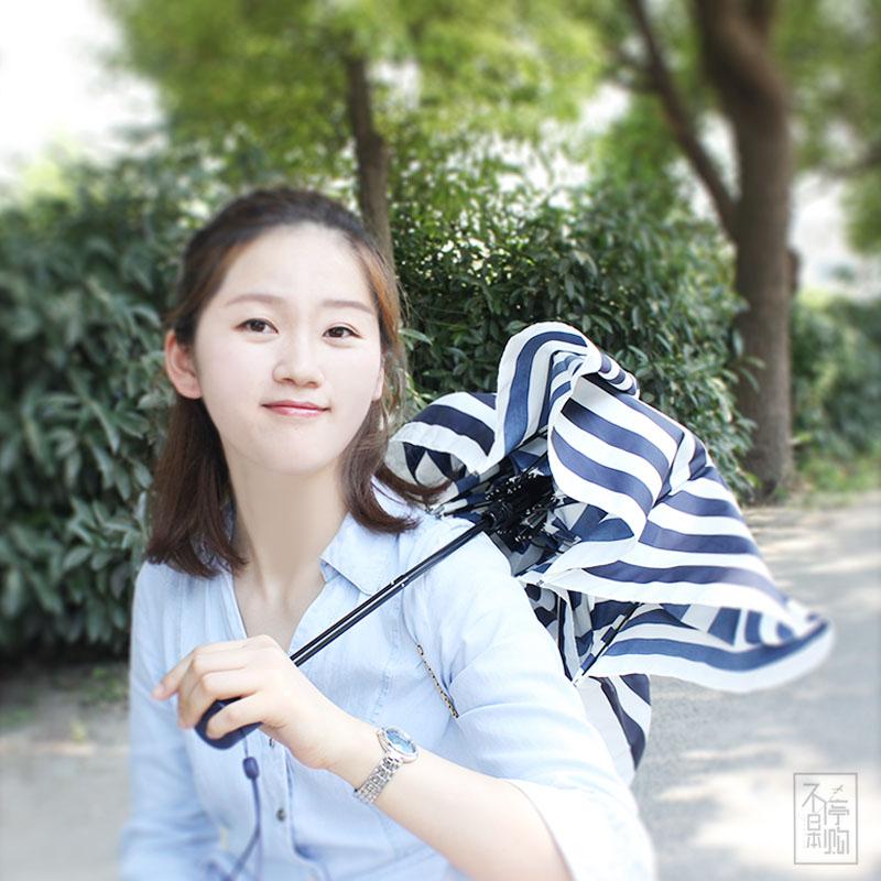 包邮WPC日本unnurella防晒遮阳挡紫外线纯色一甩干晴雨伞男女用UN