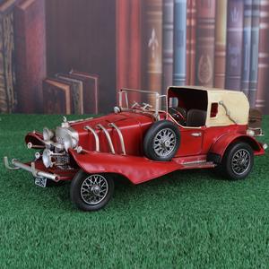 复古奔驰770K模型经典老爷车 汽车模型摆件工艺品 神剑代维莱跑车