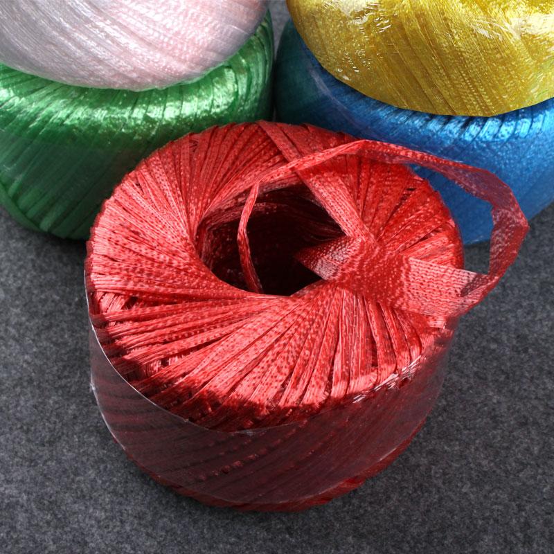 Нейлон веревка PP пластик пакет наконечник веревка группа тюк веревка рвать трещина упаковки с веревка стекло провод мяч волокно веревка