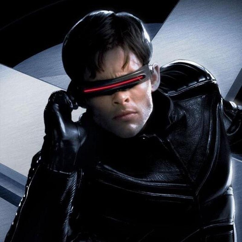 Xmanx police polarizing conjoined piece laser Sunglasses Coser performance polarizing sunglasses mens small face