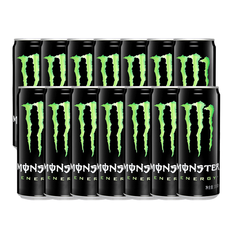Monster black talons 330ml * 12 cans of energy vitamin sports drink