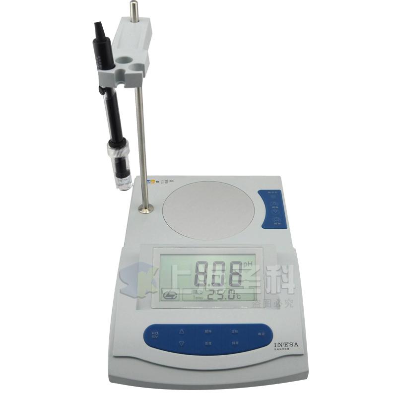 上海雷磁PHS-3G磁力搅拌器PH计酸度计ph值检测,可领取20元天猫优惠券